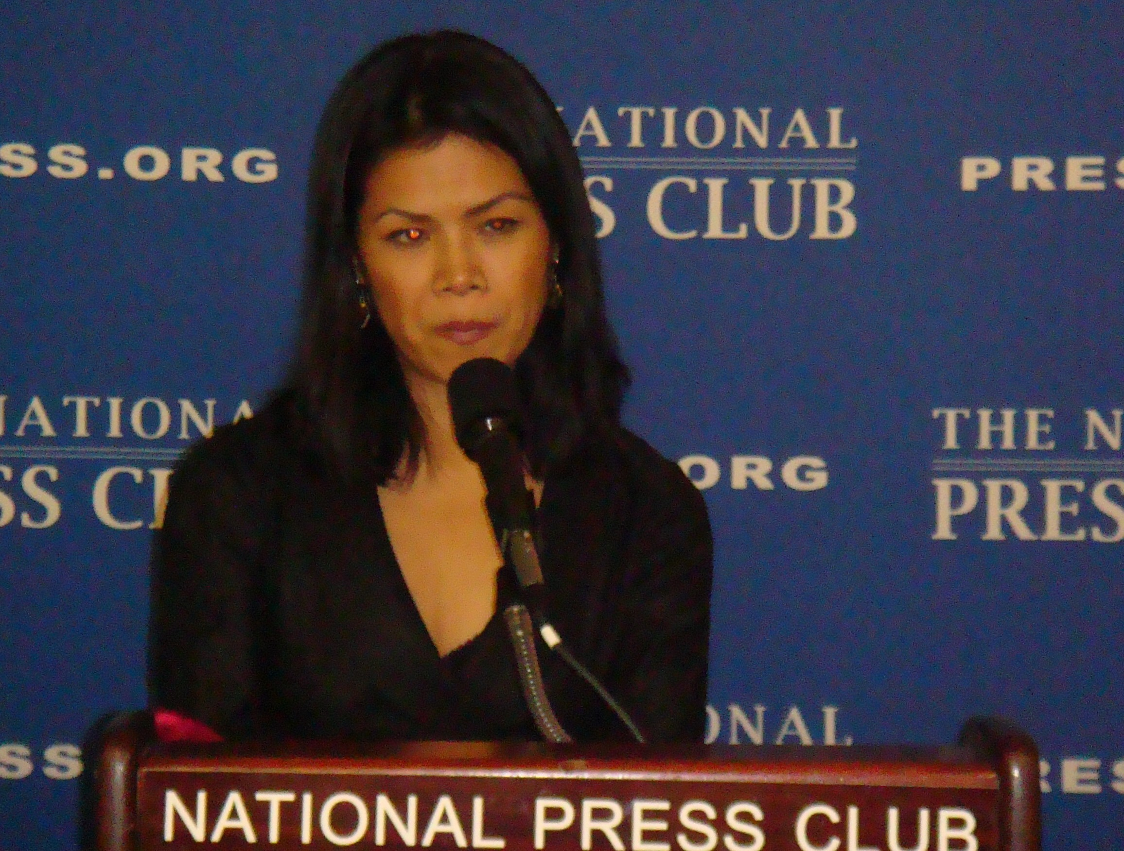 Newsmaker Theary Seng at the National Press Club, Wash. DC, March 2010