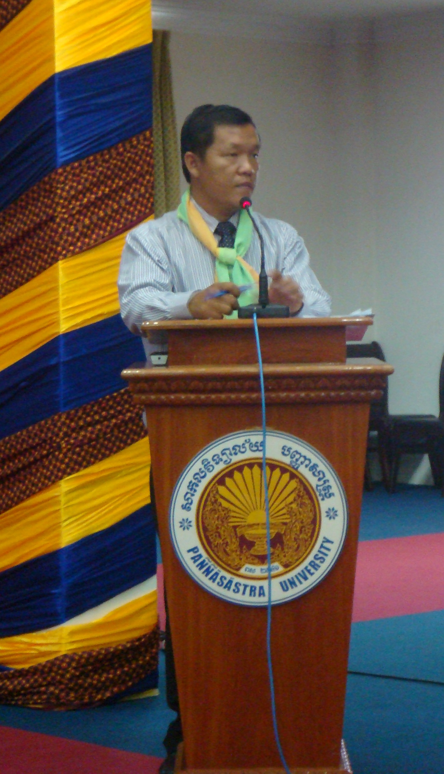 CJR interim director SOK Leang, 23 July 2010