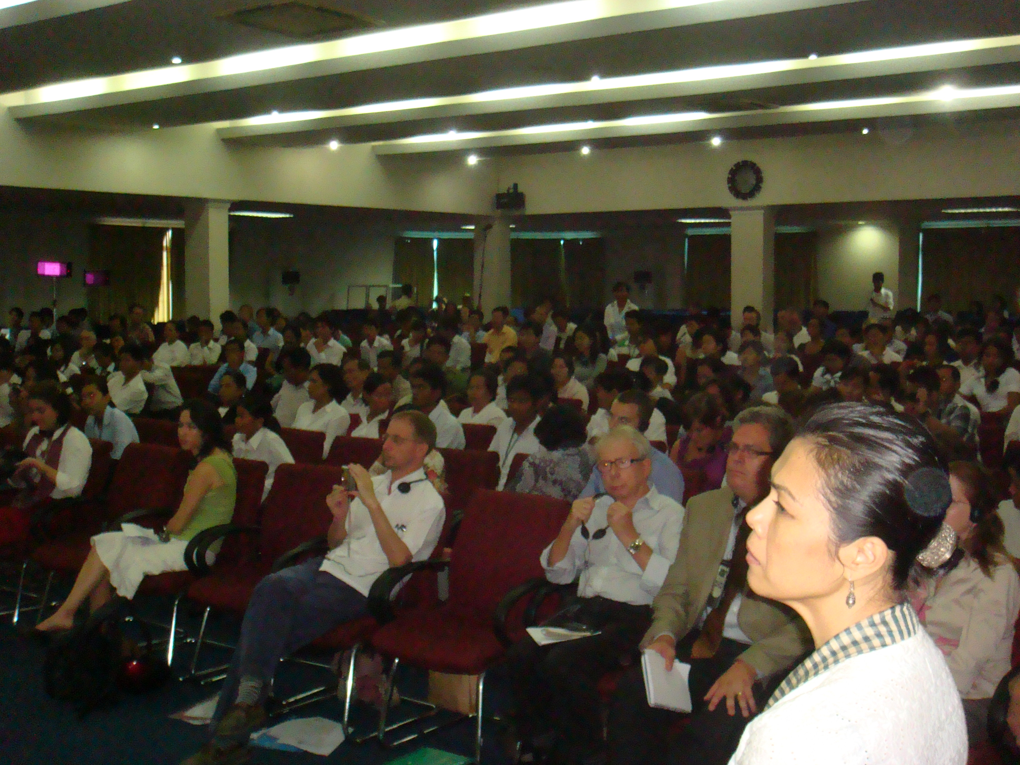 Theary Seng at CJR public forum on advent of Duch verdict, 23 July 2010