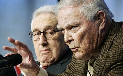 Pornography of power Henry Kissinger and Alexander Haig, 2006