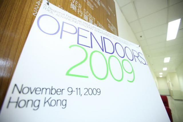 ANSA-EAP Open Door in Hong Kong Theary Seng speaking (November 2009)