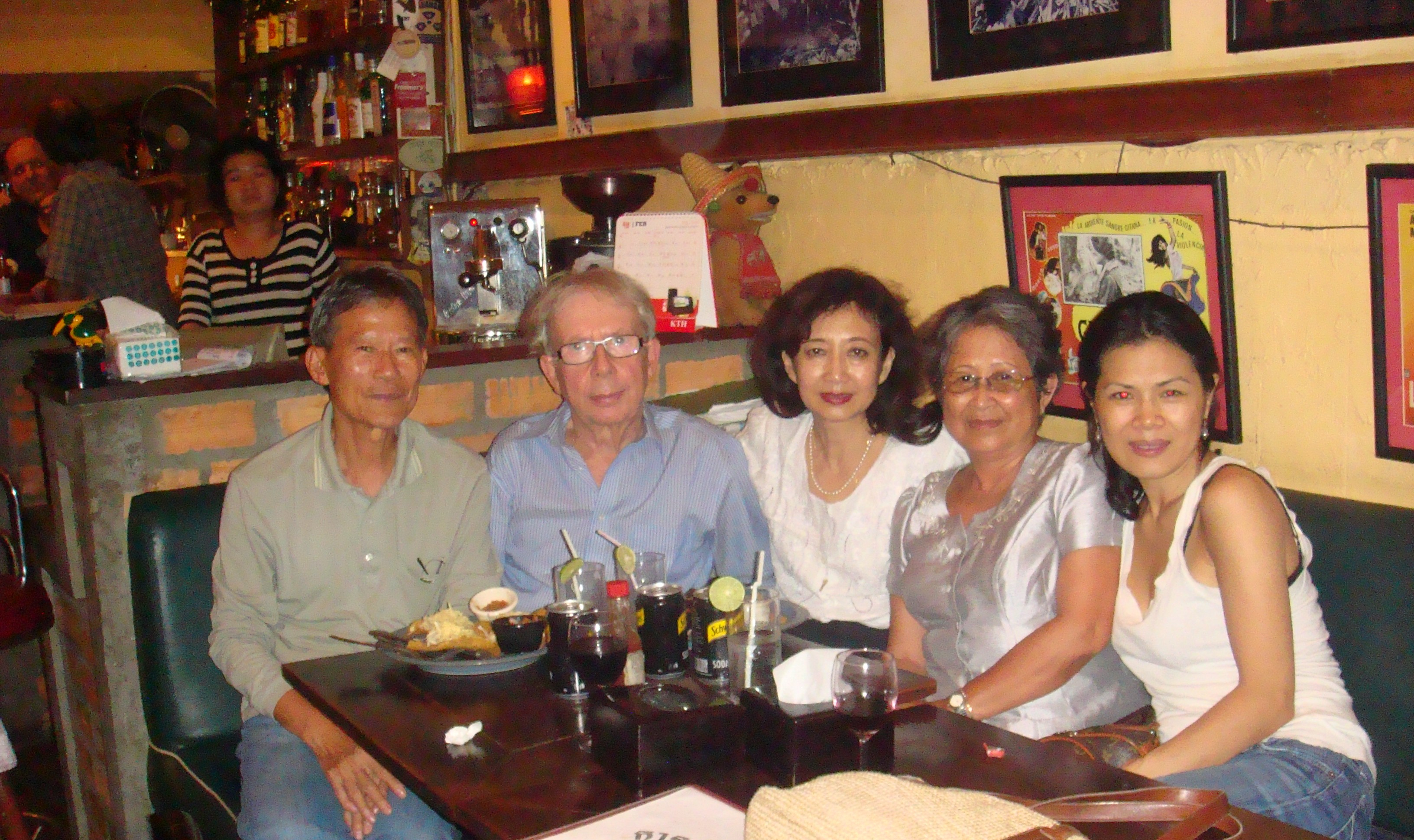 Theary Seng, Nan, An, Jim and Milly Pringle, 21 Feb. 2011