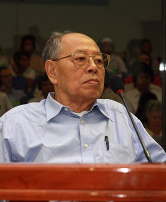 civil party Theary Seng at Ieng Sary's PTC hearing, 2 July 2008