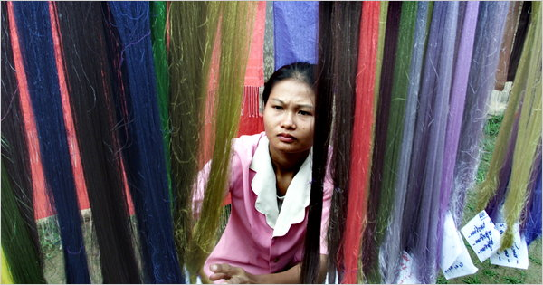 New York Times Silk Industry Cambodia