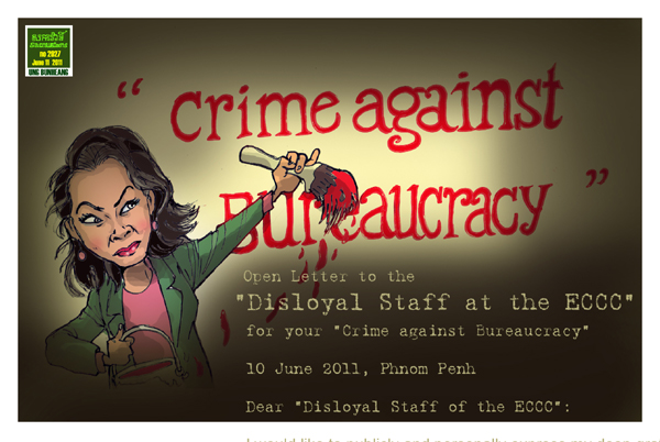 Sacrava - Theary Seng's Crime Against Bureaucracy, 10 June 2011