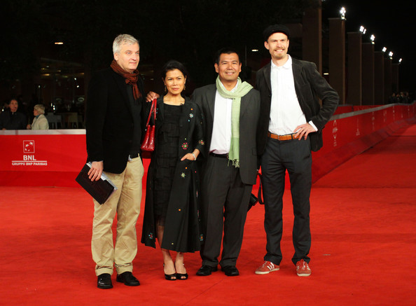 Red Carpet for Facing Genocide (Intl Rome Film Festival, 3 Nov. 2010)