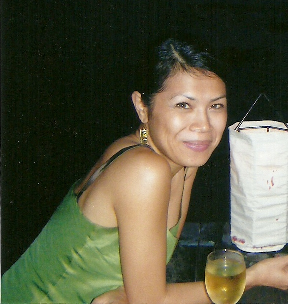 Theary Seng in Sihanoukville, early 2009