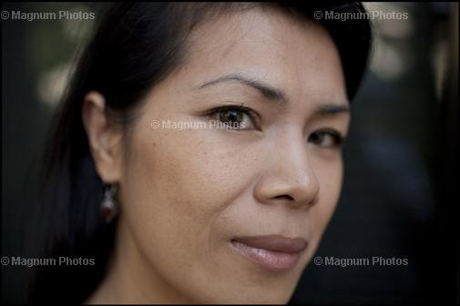 Theary Seng, March 2009 by John Vink of Magnum